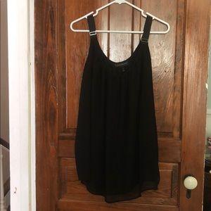 Black Dress Tank Top